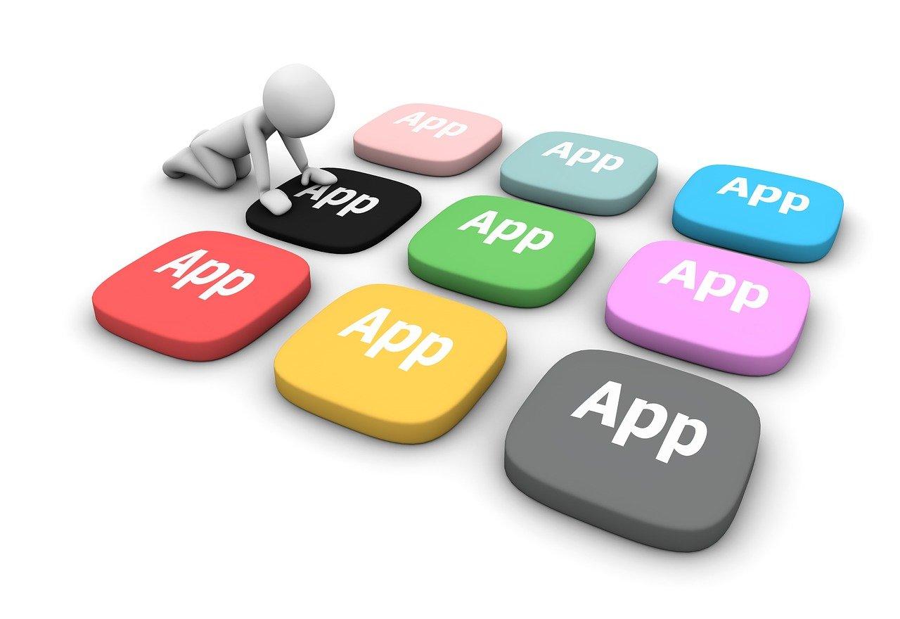 app, software, contour