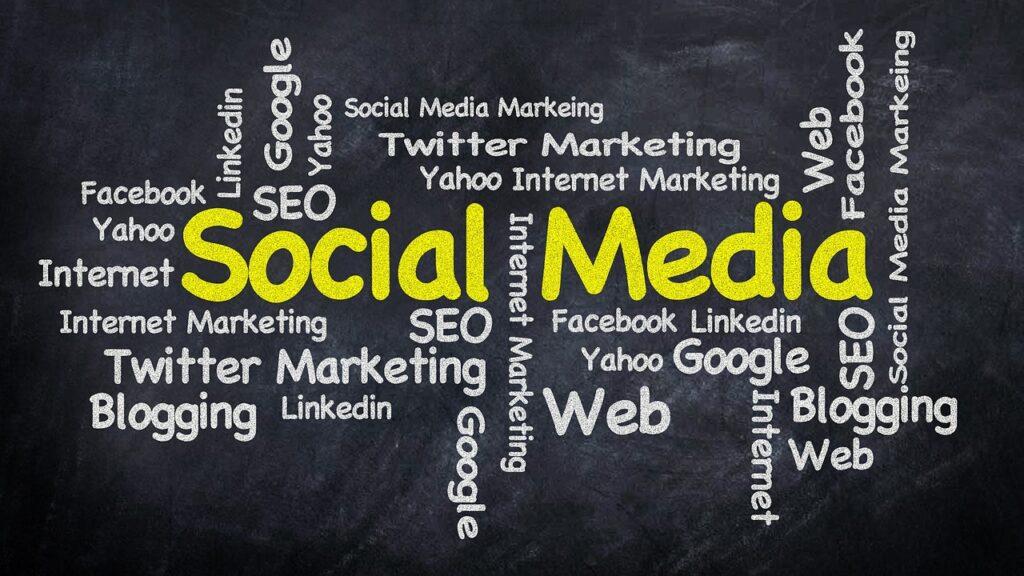 social media, word cloud, marketing