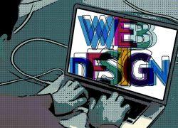 web design, laptop, administrator